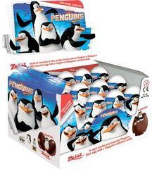 Шоколадное яйцо с сюрпризом Пингвины 20 грамм