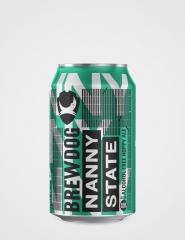 Пиво Brewdog Nanny State б/а светлое 330 мл ж/б