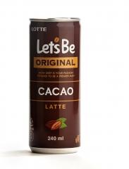 Кофе Let's be в банках CACAO Latte 240мл