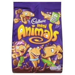 Мини-печенья Cadbury в форме животных 139,3 гр