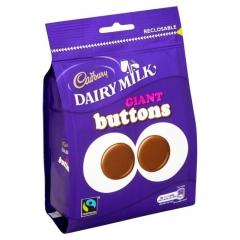 Шоколад Cadbury Гигантские пуговицы 119 гр