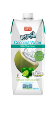 Напиток 100% Coconut Water with Thai Lime 0,5л