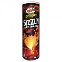 Чипсы Pringles Flame Сыр и Соус Чили 160 гр