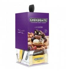 Конфеты CHOCODATE ASSORTED ассорти подарочная коробка 200 грамм
