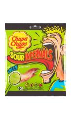 Кислые конфеты Chupa Chups Lolly на палочках 114 гр
