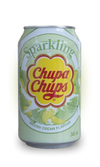 Напиток газированный Chupa Chups Melon cream (вкус Дыня) 345 мл