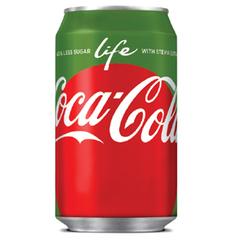 Напиток б/алк Coca-Cola life 330мл