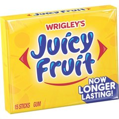 Wrigley Gum Juicy Fruit