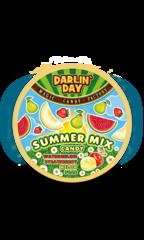 Карамель леденцовая Summer Mix со вкусом: арбуза, дыни, клубники, груши 180 грамм