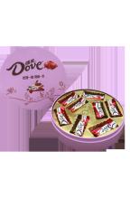Набор Dove молочный шоколад в 110 гр в ж/б