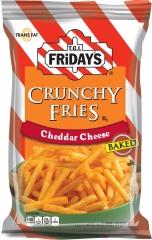 Картофель фри Fridays Crunchy Fries с сыром Чеддер 128 гр