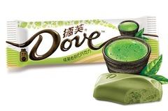 """Шоколад """"Dove"""" со вкусом зеленого чая 42 грамма"""