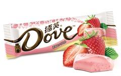 """Шоколад """"Dove"""" со вкусом клубники 42 грамма"""