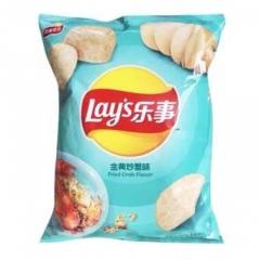 Чипсы Lays со вкусом жареного краба 70 грамм