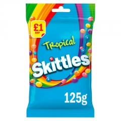 Драже жевательное Skittles Tropical 125 гр