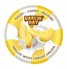 Карамель леденцовая молочная DARLIN DAY дыня и сливки 180 грамм