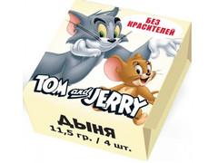 Конфеты жевательные Tom and Jerry Дыня 11,5 грамм