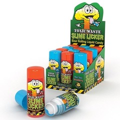 Жидкая суперкислая конфета-ролик Toxic Waste Slime Licker