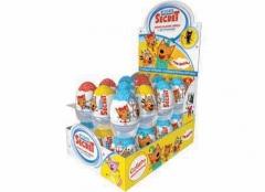 Шоколадное яйцо с игрушкой Mega Secret Три Кота 20 гр