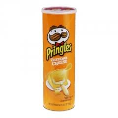 Чипсы Pringles Сыр Чеддер 158 гр