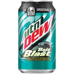 Mountain Dew Baja Blast