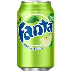 Напиток Fanta Green Apple Зеленое яблоко 355 мл