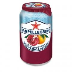 Напиток б/а газ. San Pellegrino Гранат Апельсин 330 мл