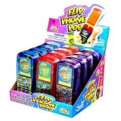 Леденецовая карамель Kidsmania с игрушкой телефон 30 грамм