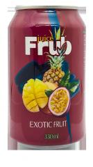 Напиток сокосодержащий б/а Frub Экзотические фрукты 330 мл