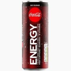 Напиток газированный Coca Cola Energy NO SUGAR 250 мл