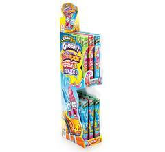 Жидкая конфета-спрей и леденец-ролик Gigant Roller Coaster Johny Bee 40мл