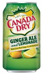 Напиток CANADA DRY GINGER ALE&LEMONADE имбирьный эль-лимонад 355 мл