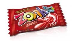 Жвачка Docile ZOAH! Red Tongue Painter Strawberry 5 грамм