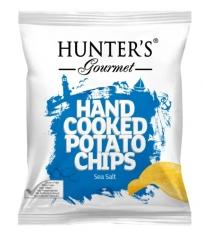 Чипсы Hunter`s Gourmet  Морская соль 125 гр