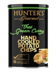 Чипсы Hunter`s Gourmet Тайский Зеленый Карри 150 гр