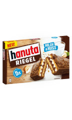 Вафли Hanuta Молоко и орех 172,5 гр