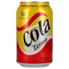 Напиток Harboe Cola Lemon Харбо кола лимон 330 мл