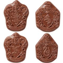 """Шоколад Фигурный """"Jelly Belly"""" ГАРРИ ПОТТЕР, Эмблемы Факультетов Хогвардса 28 грамм"""
