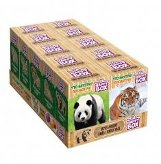 Карамель и фигурка Happy Box Исчезающие виды животных 30 гр