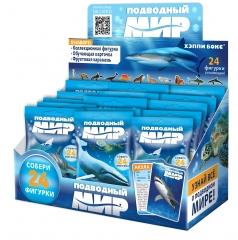 Карамель с игрушкой Happy Box Подводный мир 18 гр