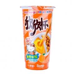 Хлебные палочки Hello kitty с апельсиновой начинкой 50 грамм