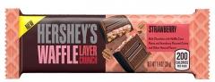 Вафельный батончик Hershey's Waffle Layer Crunch Strawberry со вкусом клубники 39 грамм
