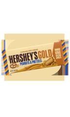 Шоколадный батончик Hershey's Gold Peanuts & Pretzels 39 гр