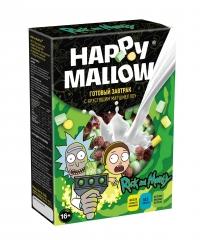 Сухой завтрак с маршмеллоу Happy Mallow Rick and Morty 240 гр
