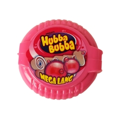 Жевательная резинка лента Wrigley's Hubba Bubba Fruit Mix 56 грамм