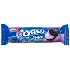 Печенье Oreo Ice Cream Blueberry Cookies (Черничное мороженое) 133 грамма