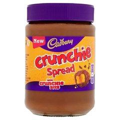 Шоколадная паста Cadbury Crunchie spread 400 грамм