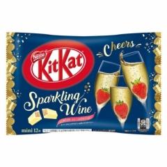 Шоколад KitKat со вкусом шампанского с клубникой 135 гр