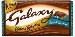 Шоколад Galaxy Salted Caramel 135 грамм