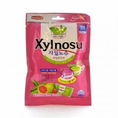 Леденцовая карамель Melland XYLNOSU FRUIT ASTD CANDY 68 грамм
